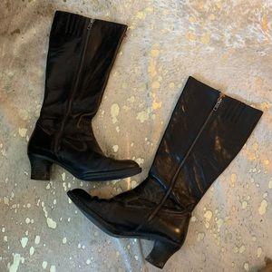 BORN Black Heeled Boots
